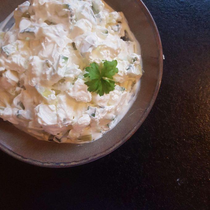 Kartoffeltwisters med fetadip #hashtagmor