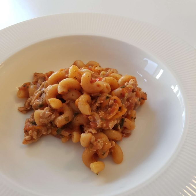 One pot pasta – kylling. #hashtagmor