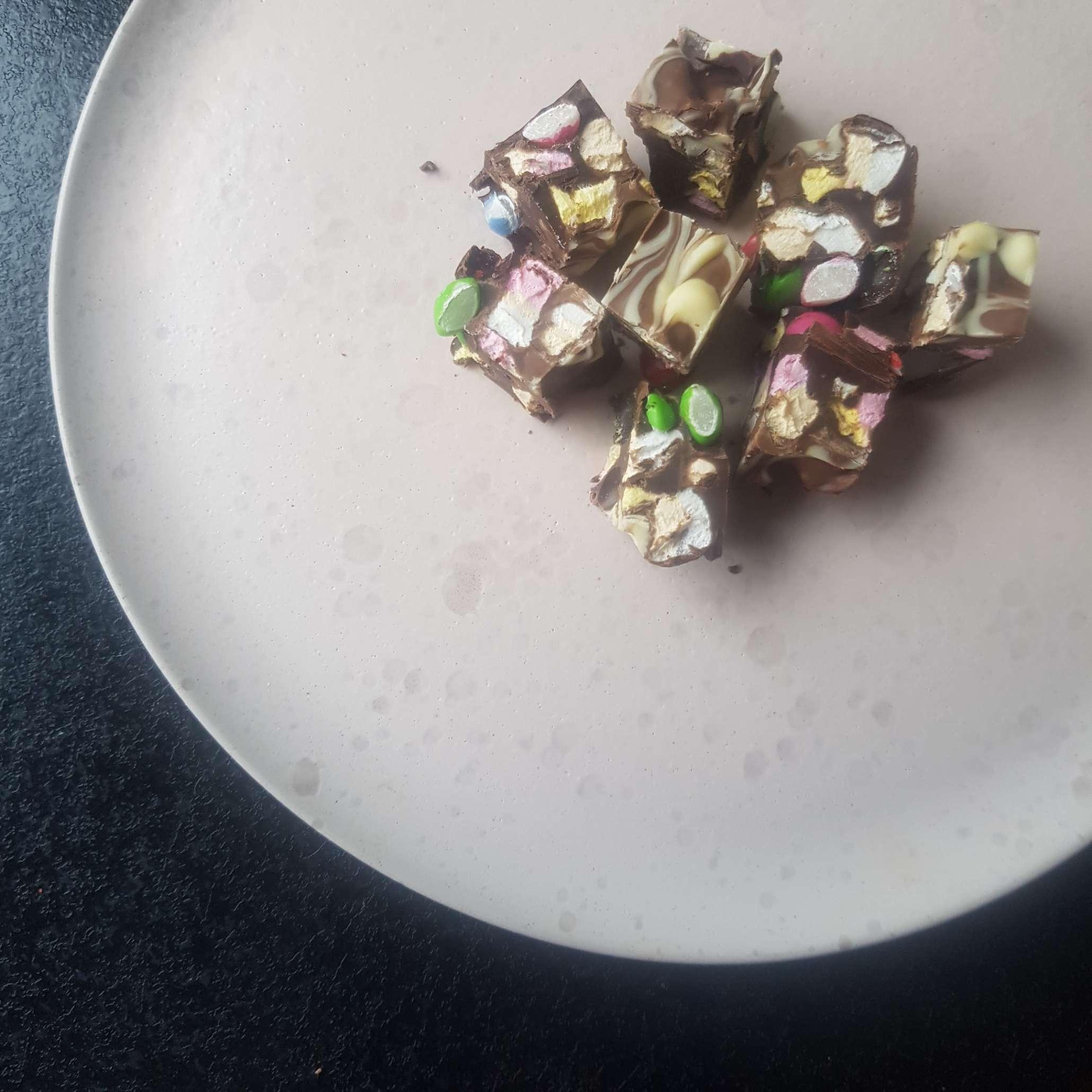 farverige chokoladebrud #hashtagmor