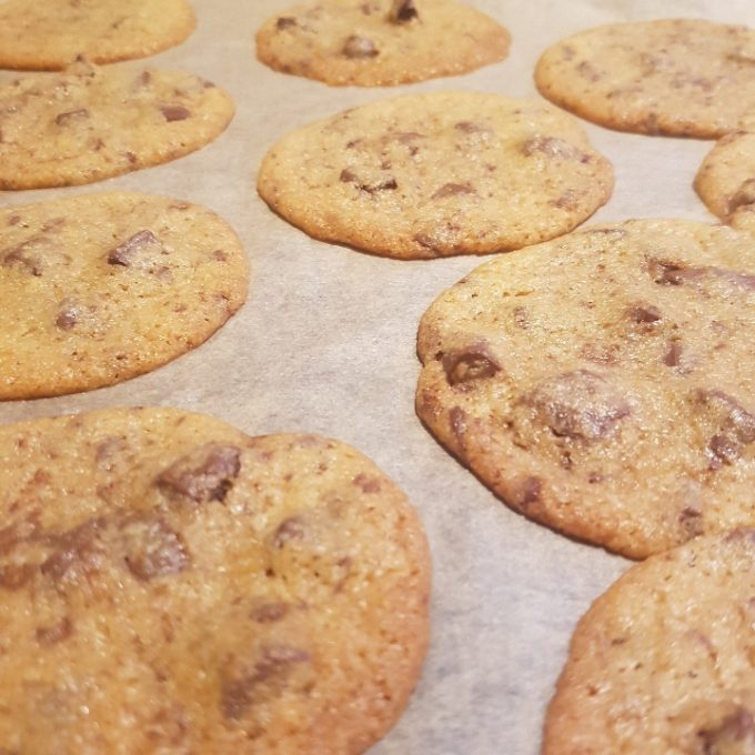 Cookies med chokolade #hashtagmor
