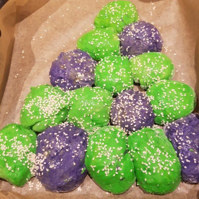 Juletræsboller.