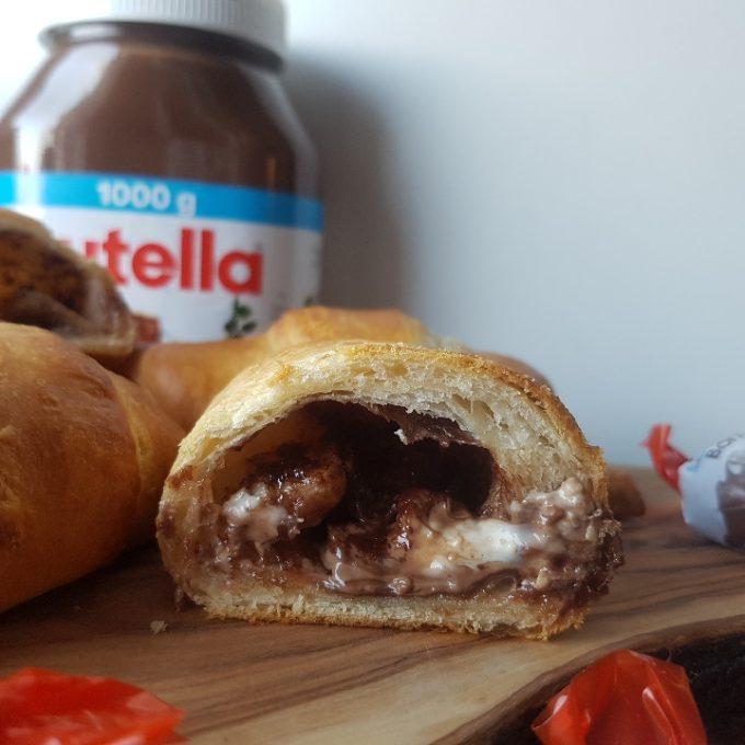 Croissant med kinder surprice #hashtagmor