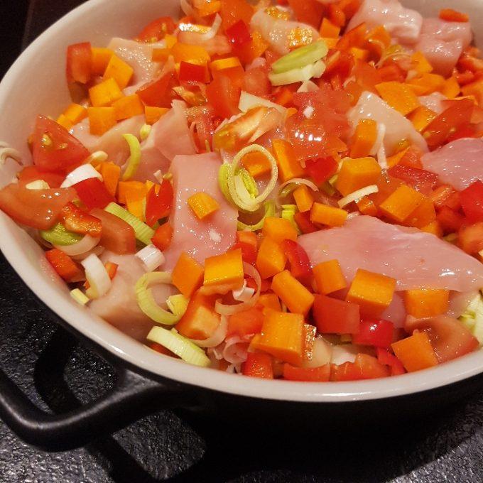 Kylling i tomatsovs #hashtagmor