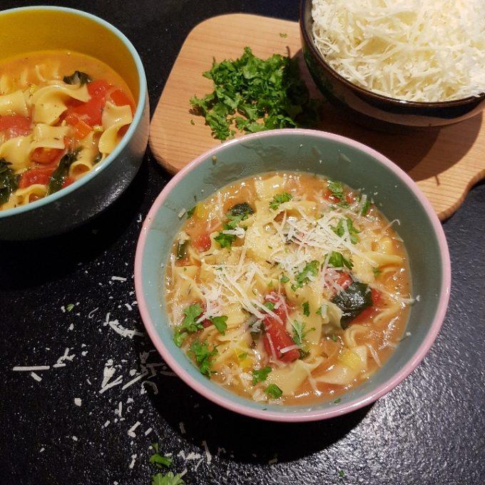 One pot pasta – vegetarisk #hashtagmor