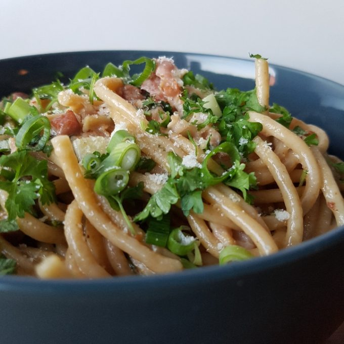 One pot pasta ala carbonara #hashtagmor
