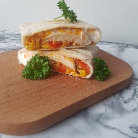 Tortillia panini.