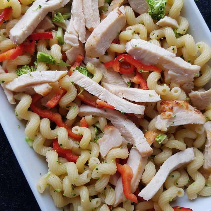Pastabake med kylling og mornaysovs #hashtagmor