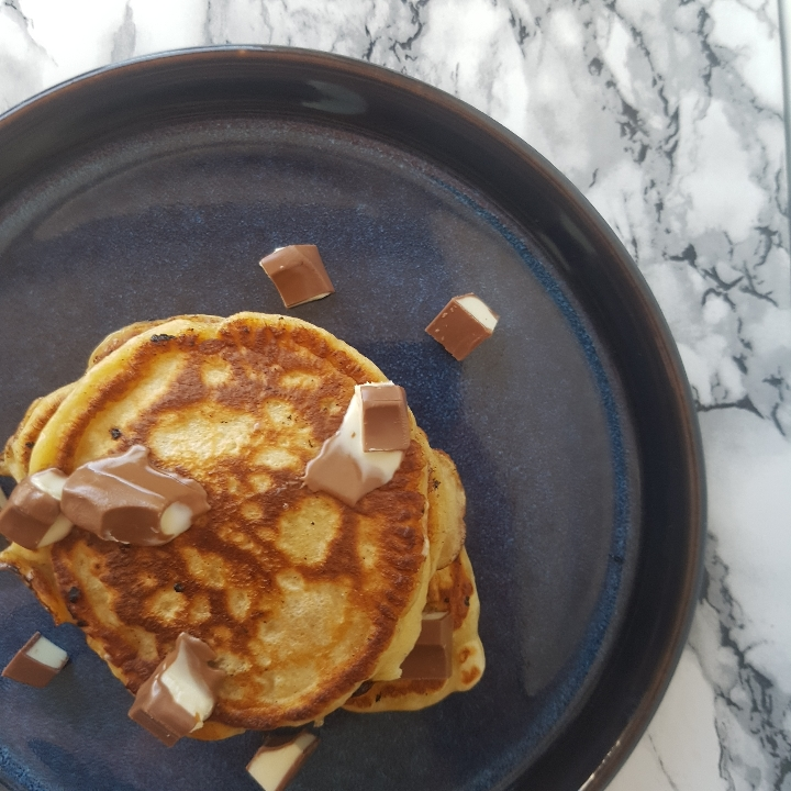 Amerikanske kinder pandekager. #hashtagmor