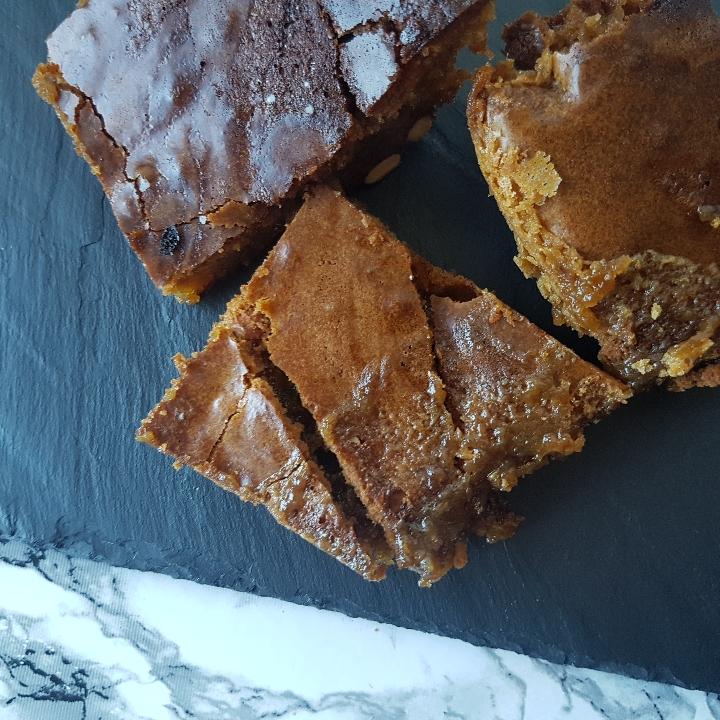Appelsin brownie med hvid chokolade og mandler #hashtagmor