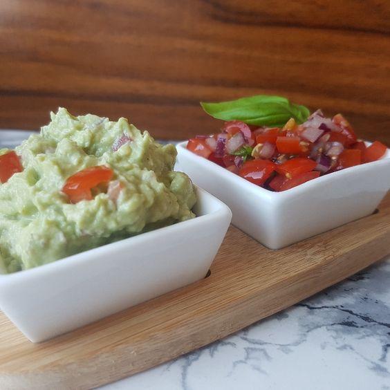 Nachos med hjemmelavet salsa og guacamole #hashtagmor