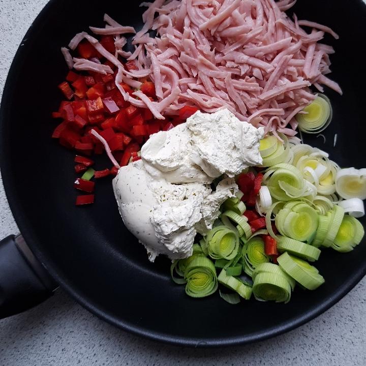 Madroulade med skinke og grøntsager. #hashtagmor