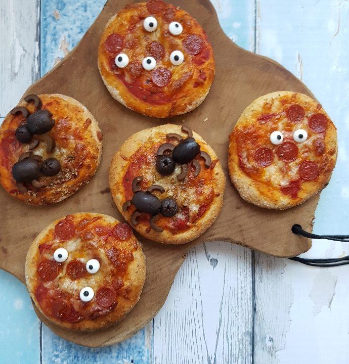 Edderkop pizza.