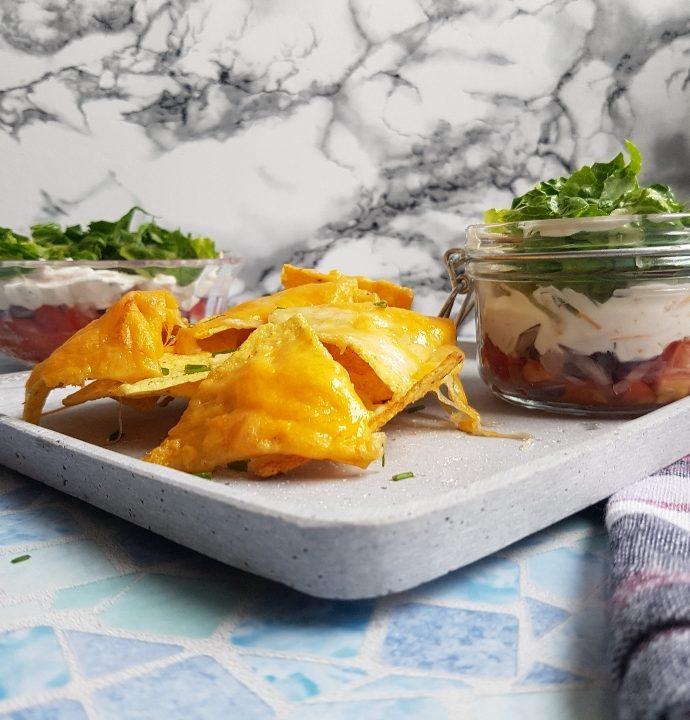 Skøn og hurtig dip til nachos.
