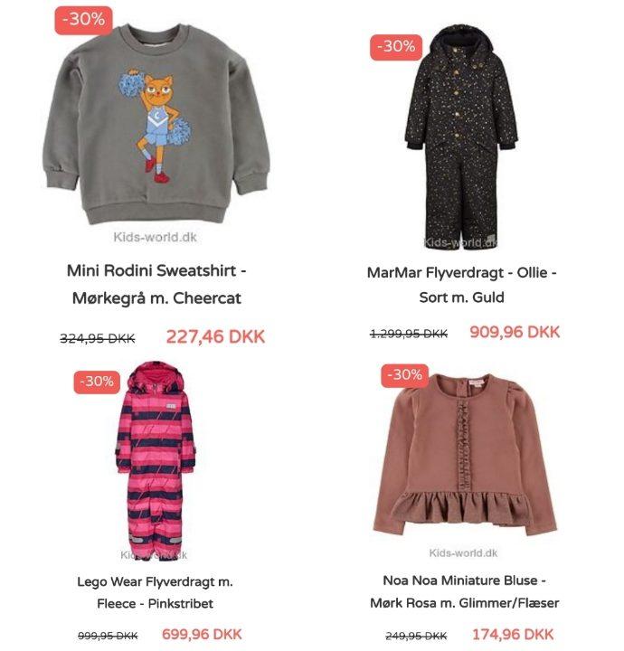 Julehygge i Lalandia og børnetøjs shopping hos www.kids-world.dk