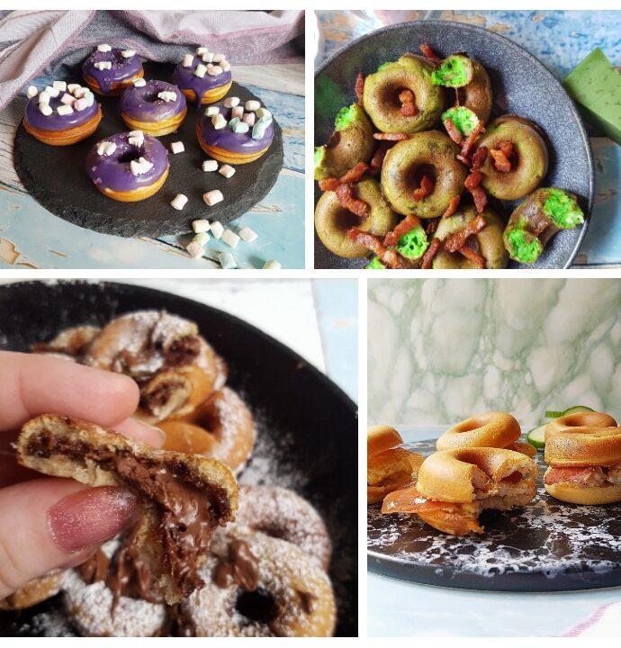 Opskrift på donut i maskine – 4 slags. //reklame