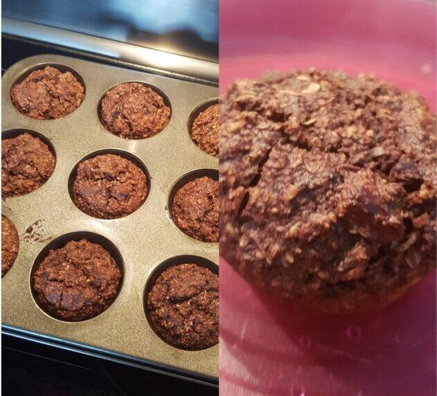 Chokolade muffins uden sukker #hashtagmor
