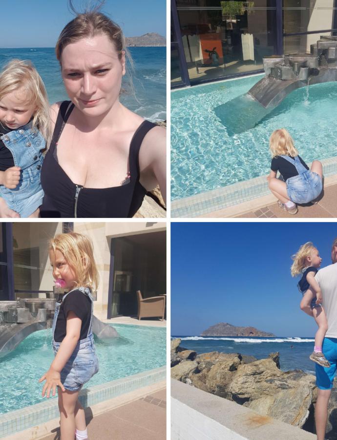 Turen går til Kreta med børn #1