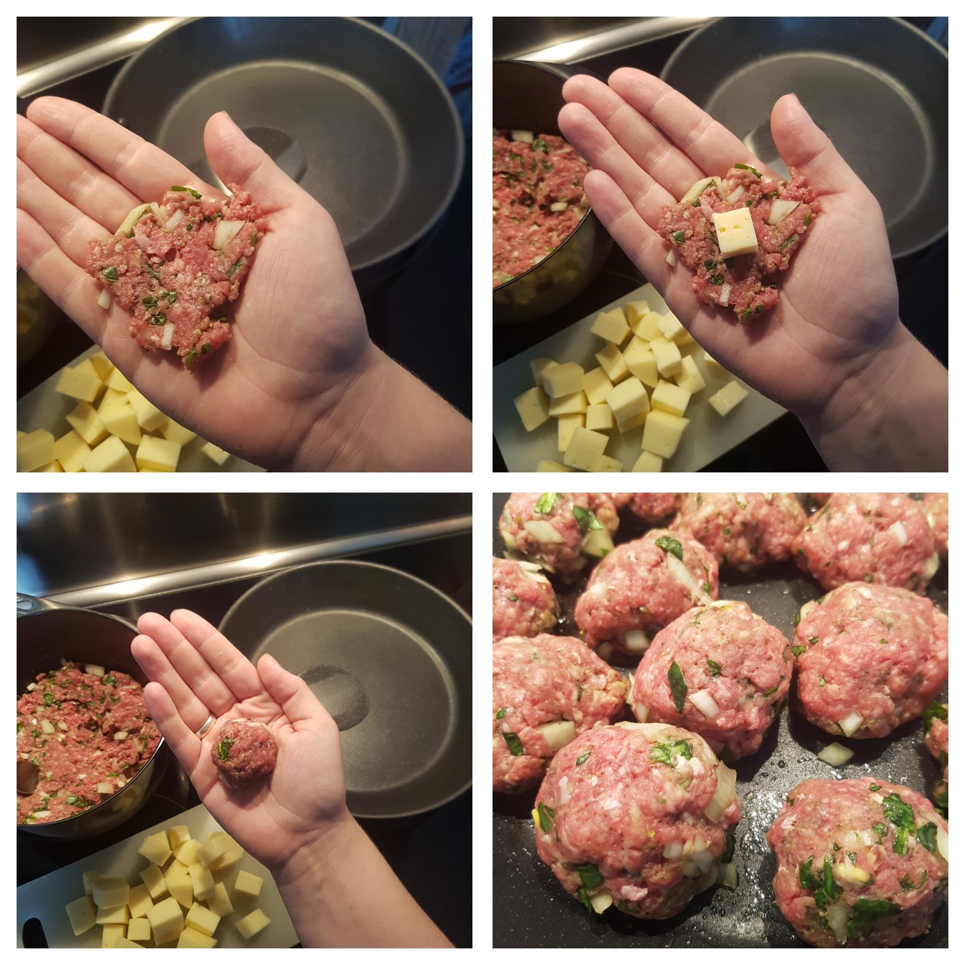 Fyldte kødboller #hashtagmor