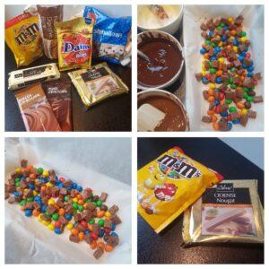 Triple chokolade Nougat brud #hashtagmor