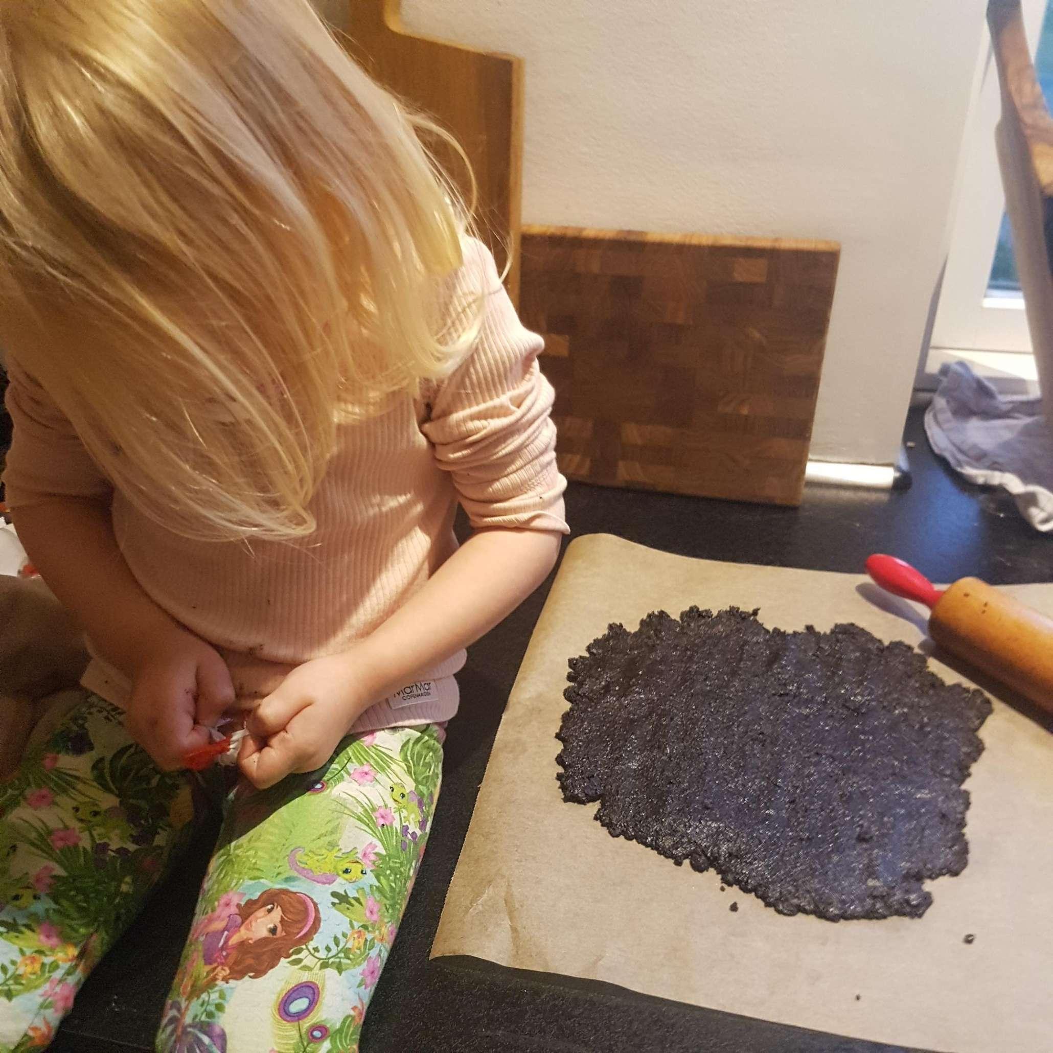 Oreo-edderkopper med kindersuprice #hashtagmor