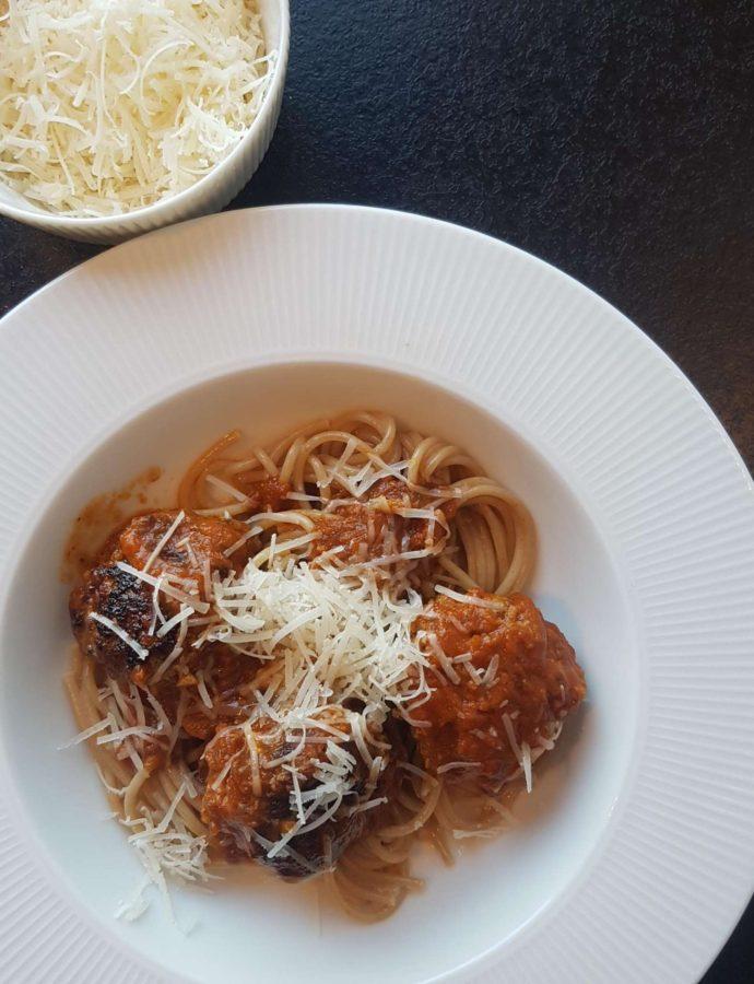 Spagetti med kødboller aka lady og vagabonden.