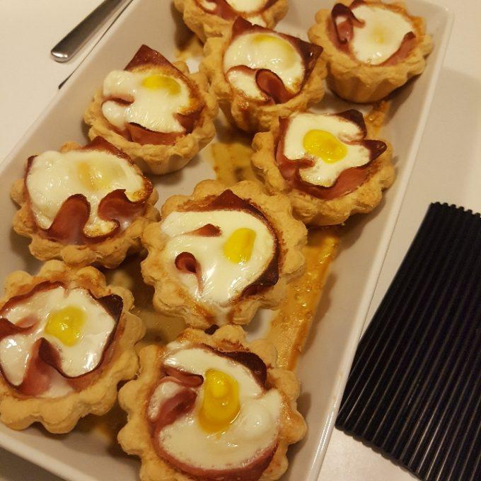 Skønne æggeletter - tarteletter med fyld