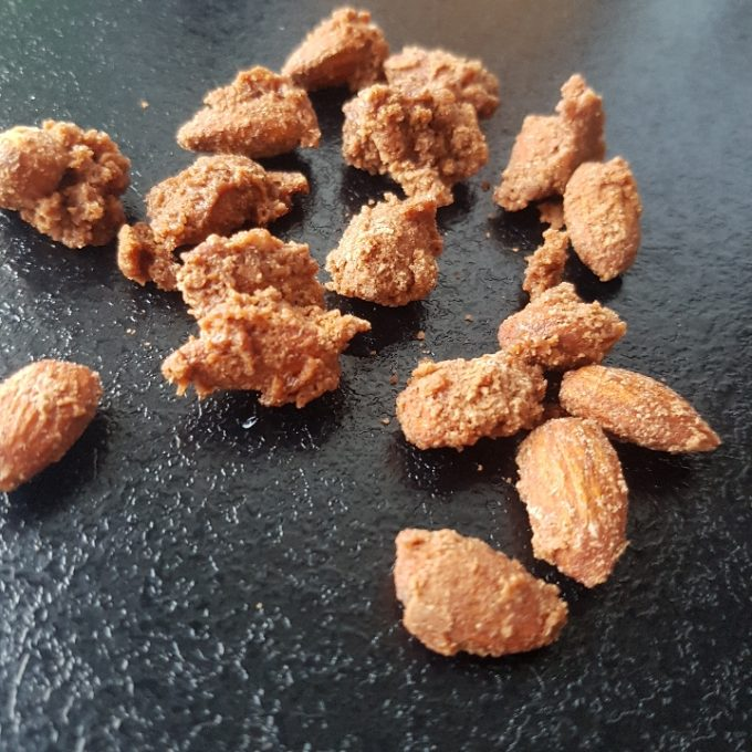 De nemmeste brændte mandler med nutella #hashtagmor
