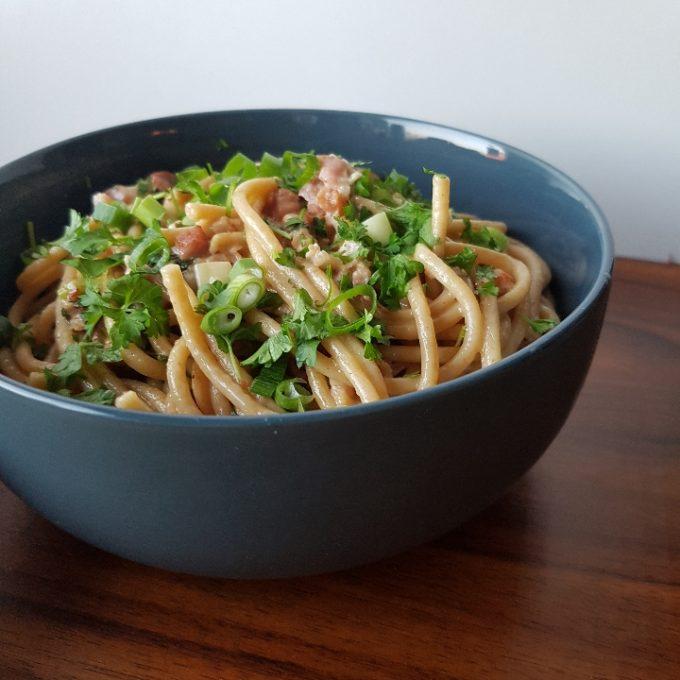 One pot pasta ala carbonara #hashtagmor