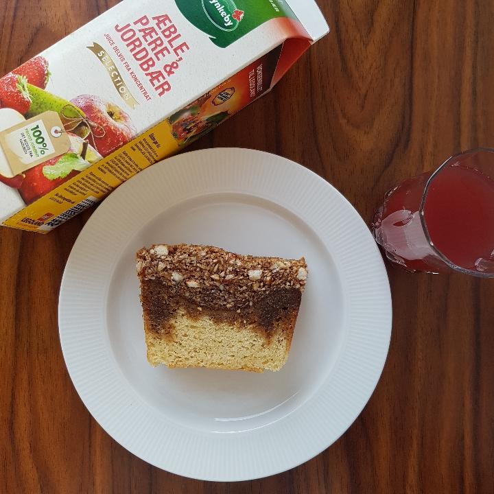Drømmekage med mandeltopping #hashtagmor