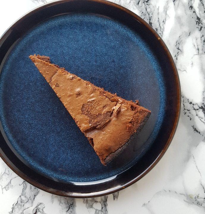 En helt fantastisk chokolade mud cake.