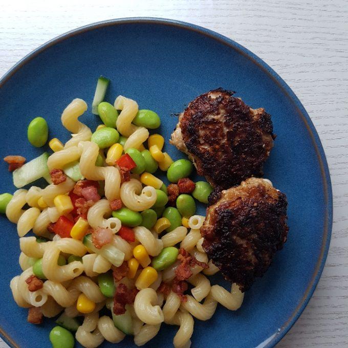 Frikadeller med pastasalat #hashtagmor