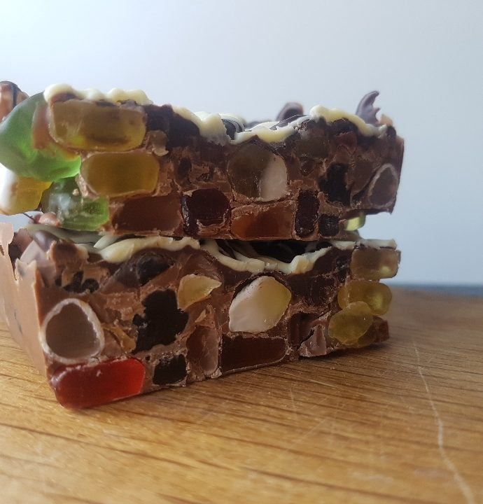 Triple chokolade børne brud.