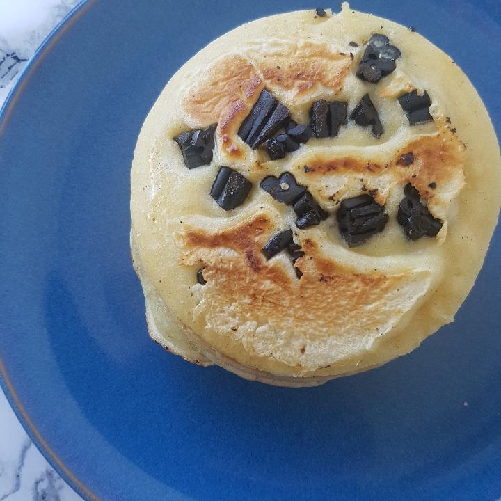 Amerikanske lakrids pandekager #hashtagmor