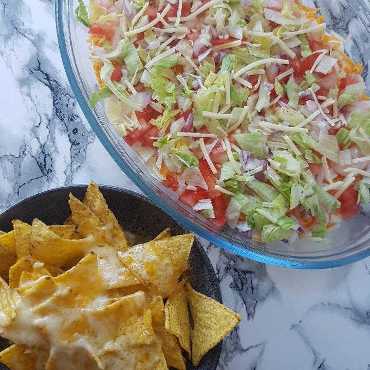 Rejer ala creme med nachos #hashtagmor