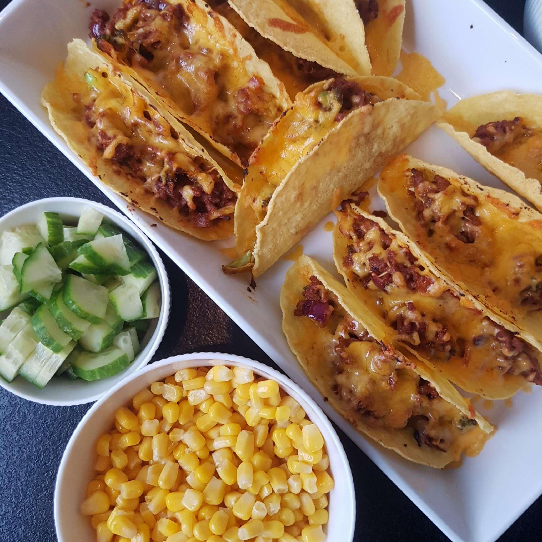 Gratineret taco #hashtagmor.