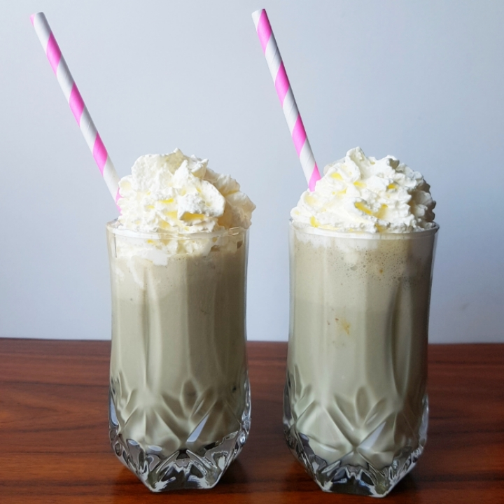 Lakridsmilkshake - nem opskrift på milkshake.