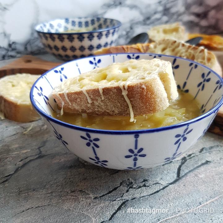 Løgsuppe - en skøn fransk klassisker #hashtagmor