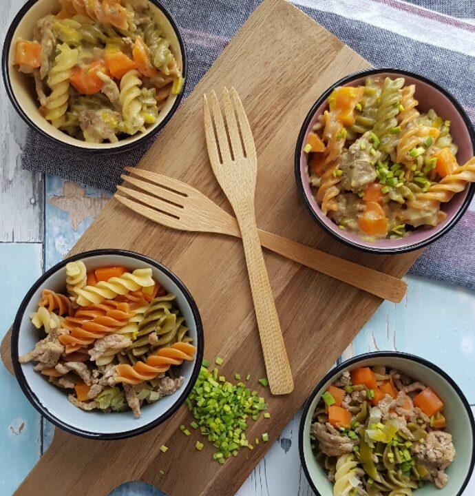 One pot pasta – pasta/bearnaise.