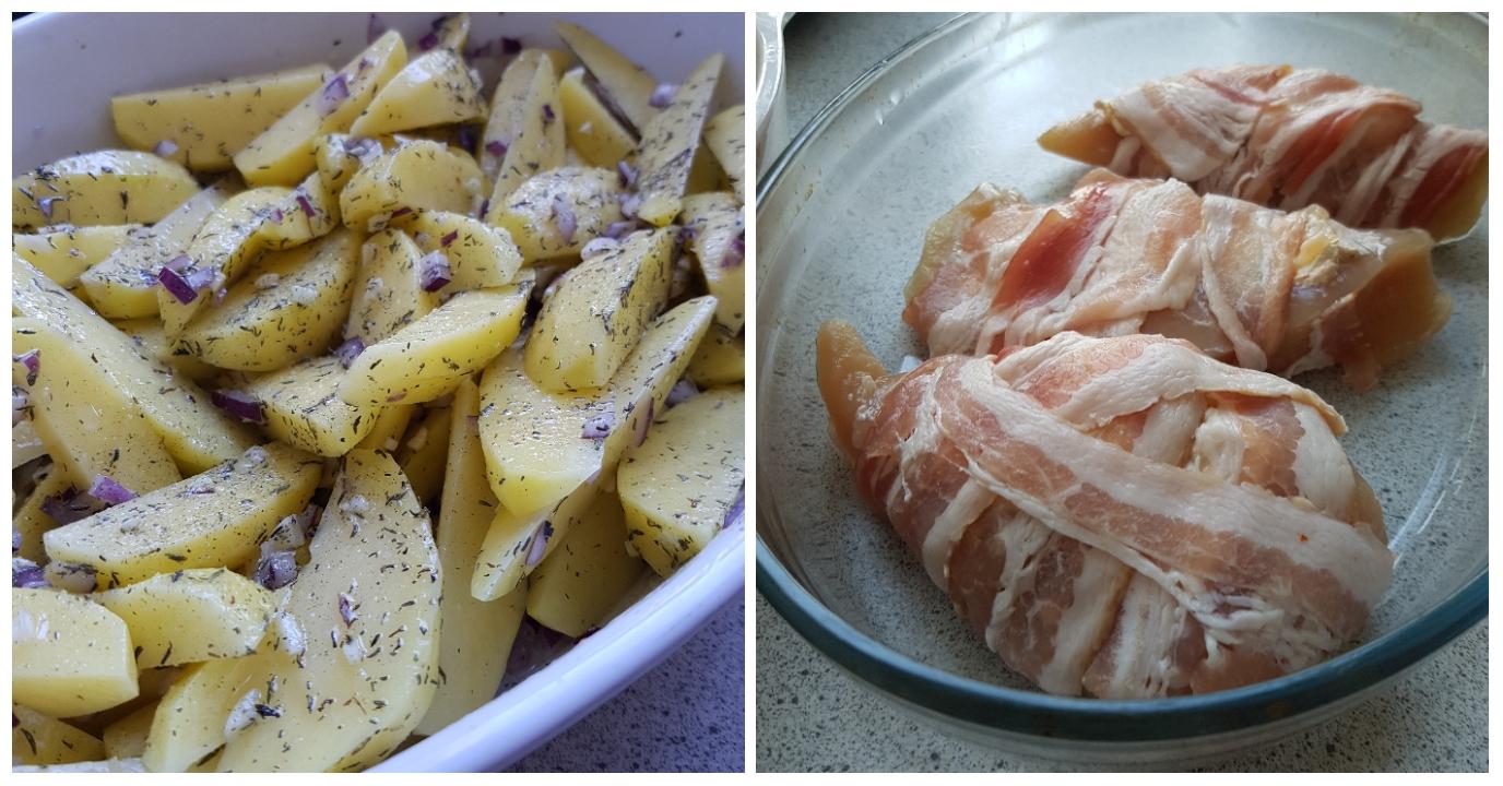 Pikant kylling med ovnkartofler og bearnaise. #hashtagmor