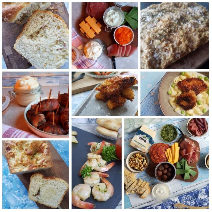Tapas inspiration til nytår - mad til nytårsaften