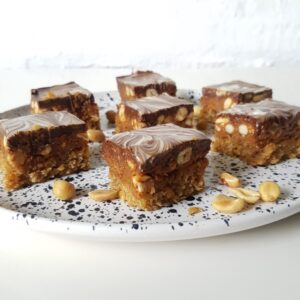 Drømmekage snickers - en skøn snickers kage.