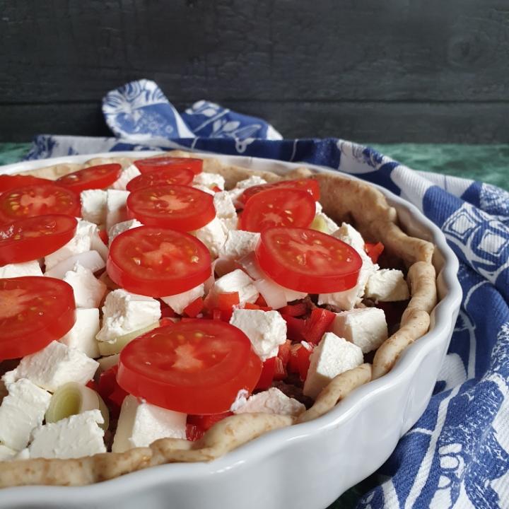 Tærte med oksekød - nem madtærte opskrift