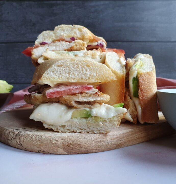 Hjemmelavet sandwich med kylling – crispy chicken opskrift