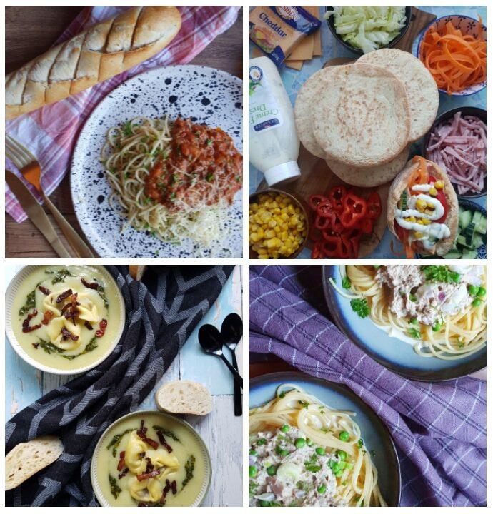 Budget madplan #6 – sund og billig madplan