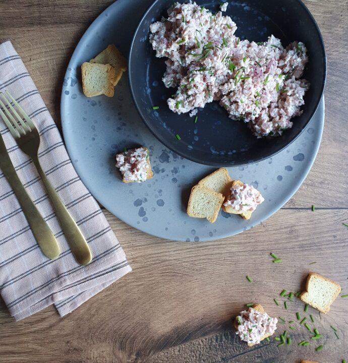 Hjemmelavet skinkesalat – frokost pålæg ideer