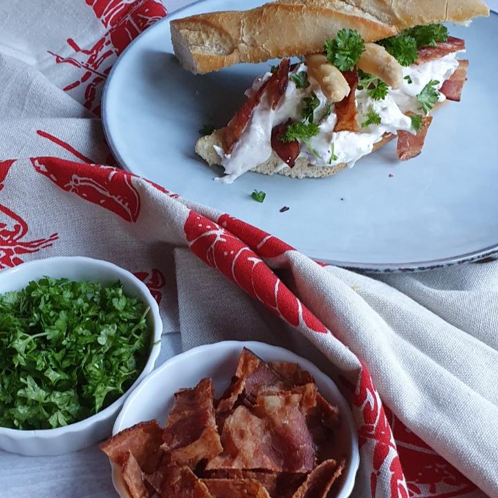 Hønsesalat opskrift med asparges