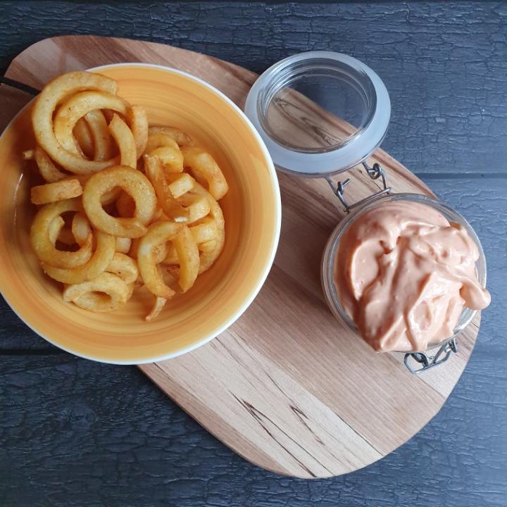Hjemmelavet mayonnaise opskrift med peberfrugt